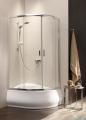Radaway Premium Plus A Kabina półokrągła 80x80 wysokość 170cm szkło przejrzyste
