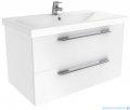 New Trendy Avora szafka umywalkowa 60 cm biały połysk ML-8260