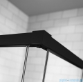 Radaway Idea Black Kdd kabina 80cm część lewa szkło przejrzyste 387061-54-01L