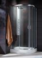 Radaway Premium Plus E Kabina prysznicowa 90x80 szkło satinato