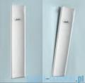 Novellini Glax 3 kabina masażowo-parowa 120x90 lewa srebrny GL32P299ST1N-1B