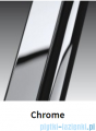 Novellini Drzwi prysznicowe przesuwne LUNES 2P 150 cm szkło przejrzyste profil chrom LUNES2P150-1K