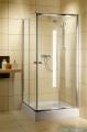 Radaway Classic C Kabina prysznicowa kwadratowa z drzwiami przesuwnymi 80x80 szkło przejrzyste profile białe