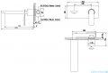 Kohlman Experience black bateria podtynkowa umywalkowa czarny mat QW185EB