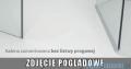 Radaway Euphoria KDJ P Kabina przyścienna 100x110x100 prawa szkło przejrzyste 383612-01R/383240-01R/383032-01/383039-01