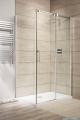 Espera KDJ Kabina Radaway prysznicowa 100x80 prawa szkło przejrzyste montaż na posadzce