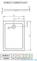Radaway Doros F Brodzik prostokątny 120x80x5,5cm SDRF1280-01