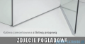 Radaway Euphoria KDJ+S Kabina przyścienna 100x80x100 lewa szkło przejrzyste 383512-01L/383221-01L/383052-01/383032-01