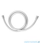 Omnires Silver wąż prysznicowy bezskrętny 125cm srebrny Silver-X125SL