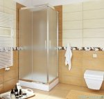 Sea Horse Sigma kabina natryskowa narożna kwadratowa, 70x70, szkło: chinchilla,   BK000/3/Q