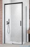 Radaway Idea Black Kdj drzwi 120cm lewe szkło przejrzyste 387042-54-01L