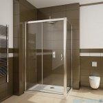 Radaway Premium Plus DWJ+S kabina prysznicowa 100x90cm szkło fabric 33303-01-06N/33403-01-06N