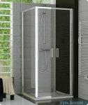 SanSwiss TOPF Ścianka boczna 75cm profil srebrny TOPF07500107
