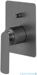 Kohlman Experience gray podtynkowa bateria wannowa szczotkowany grafit QW210EG