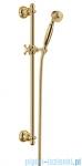 Omnires Art Deco-S Zestaw prysznicowy suwany złoto ArtDeco-SGL