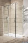 Radaway Espera KDJ Drzwi prysznicowe 140 lewe szkło przejrzyste 380695-01L/380234-01L