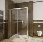 Radaway Premium Plus DWJ+S kabina prysznicowa 140x75cm szkło przejrzyste 33323-01-01N/33402-01-01N