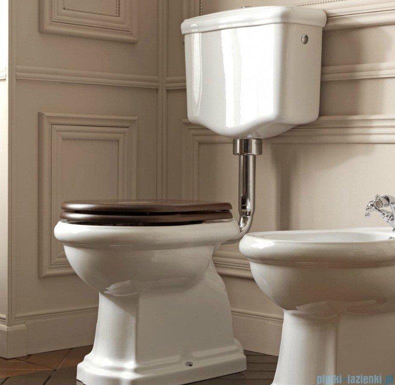 kerasan retro zestaw chrom wc kompakt redni odp yw poziomy 1011 1082 7513 7504 109001. Black Bedroom Furniture Sets. Home Design Ideas