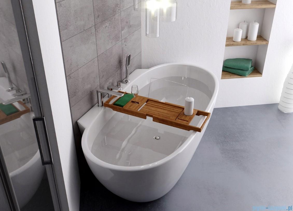 The North Bath Polka Bambusowa Uniwersalna Na Wanne Bbs 01