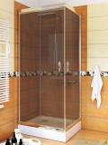 Sea Horse Stylio kabina natryskowa kwadratowa 90x90x190 cm grafit BK502QG+
