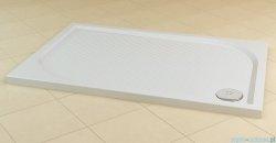SanSwiss Marblemate Wma Brodzik prostokątny 70x90cm granit czarny WMA7090154