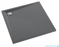 Schedpol Schedline Libra Anthracite Stone brodzik kwadratowy 90x90x3cm 3SP.L2K-9090