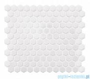 Dunin Mini Hexagon white płytka ścienna 26x30cm