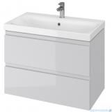 Cersanit Moduo szafka wisząca z umywalką 80x45x62 cm szara S801-220