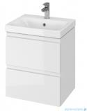 Cersanit Moduo Slim szafka wisząca z umywalką 50x35x62 cm biała S801-229