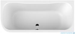Sanplast Luxo wanna asymetryczna WAP-kpl/LUXO 80x180 cm prawa + stelaż 610-370-0250-01-000