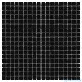 Dunin Black & White mozaika kamienna 30x30 Pure Black 15