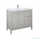 Elita Santos Oak szafka z umywalką 100x85x45cm White Wash 166386/145730