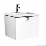 Oristo Siena szafka z umywalką Twins 50x39x45 biały połysk OR45-SD1S-50-1/UME-TW-50-91