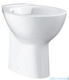Grohe Bau Ceramic miska WC stojąca bez kołnierza biała 39431000