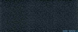 Ceramika Color Neo-Geo Pixel black dekor ścienny 25x60
