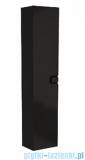 Koło Twins szafka wisząca boczna wysoka z drzwiami 35x180x27,5 cm czarny mat 88462