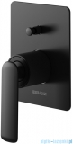 Kohlman Experience black podtynkowa bateria wannowa czarny mat QW210EB