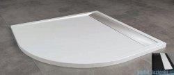 SanSwiss Ila Wir Brodzik półokrągły 100x100cm kolor czarny/biały WIR5510004154