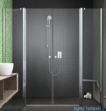 Radaway Eos II Dwd drzwi prysznicowe 140x195 W1 szkło przejrzyste 3799830-01-01/3799570-01-01