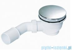 McAlpine Syfon brodzikowy 90'' pokrywa kolorze chrom HC27CPBN-PB