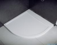 Besco Axim ultraslim 80x80cm brodzik półokrągły biały BAX-80-NR