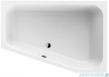 Sanplast Free Line WTL/FREE wanna trapezowata 120x175 cm prawa + stelaż 610-040-1310-01-000