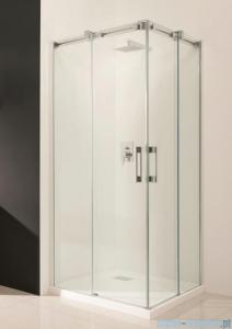 Radaway Espera KDD Kabina prysznicowa 100x80 szkło przejrzyste + brodzik Argos D + syfon 380152-01L/380150-01R/4AD810-01