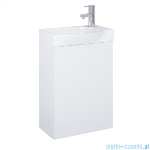 Elita Ravell Set szafka z umywalką komplet 45xx68x25cm biały połysk 166239