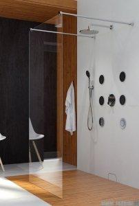 Clusi Hera kabina Walk-in 120x200 cm przejrzyste 3329HER120