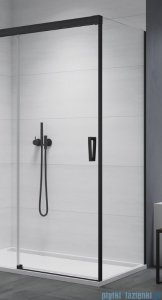 SanSwiss Cadura Black Line ścianka boczna Cast 70x200cm profile czarny mat CAST0700607