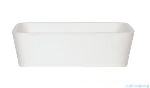 Besco Assos Glam srebrna umywalka nablatowa 40x50x15cm #UMD-A-NBS