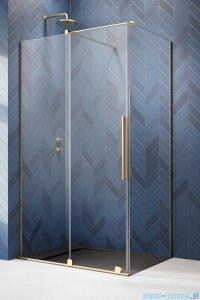 Radaway Furo Gold Kdj kabina 100x70cm lewa szkło przejrzyste 10104522-09-01L/10110480-01-01/10113070-01-01