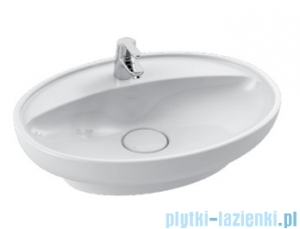 Cerastyle Lal umywalka 60x45,5cm wpuszczana / nablatowa 072200-u