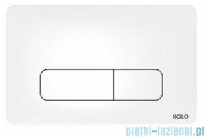 Koło Nova Pro przycisk spłukujący do stelaża Technic GT do WC biały 94160001